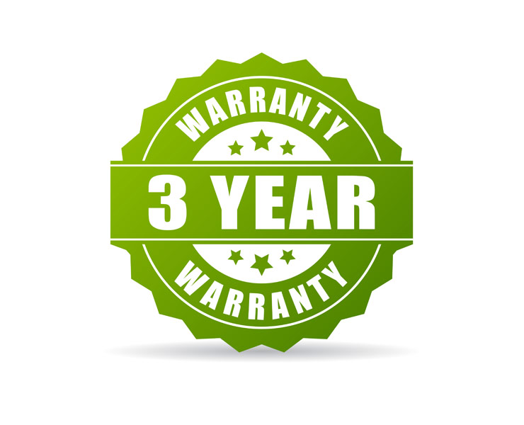 3 Year Warranty On Window Shutters