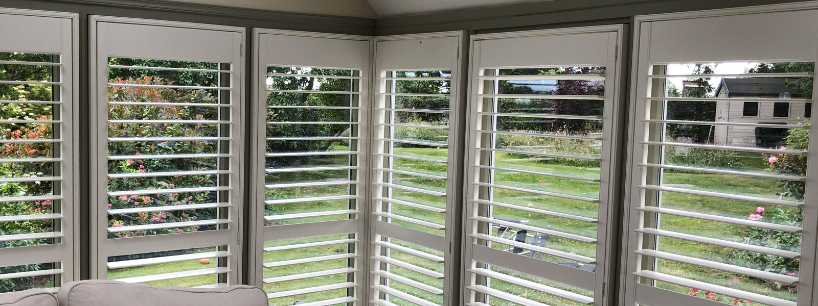 Conservatory Shutters Installation Wrexham North Wales