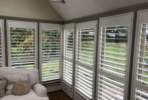 Hardwood Conservatory Window Shutters
